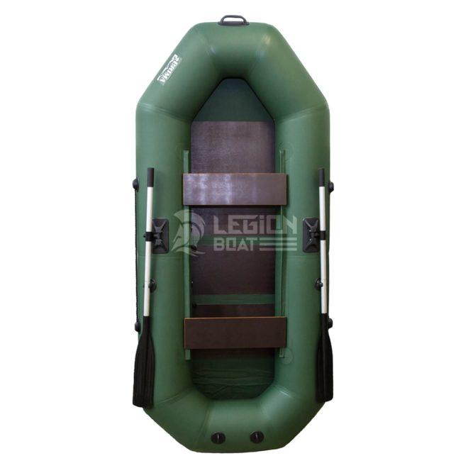 Лодка ПВХ Прима Вираж 260 зеленая